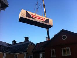 Storköksmoduler AB når svindlande höjder i Linköping.